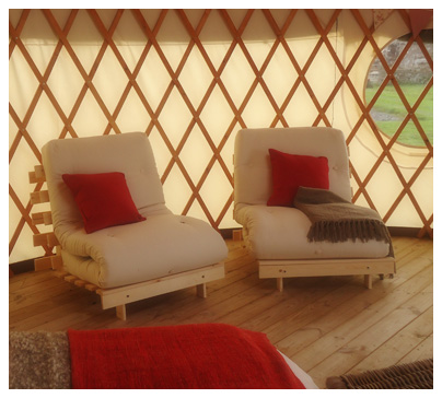 yurts north wales